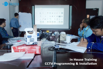 In House Training : CTTV Progamming dan Installation